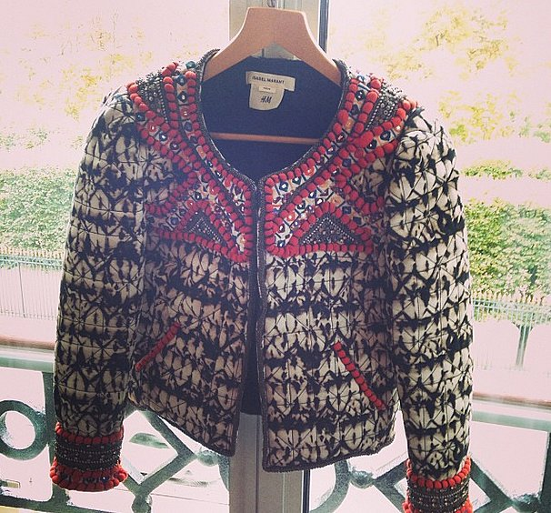 The perfect jacket from Isabel Marant for H&M.