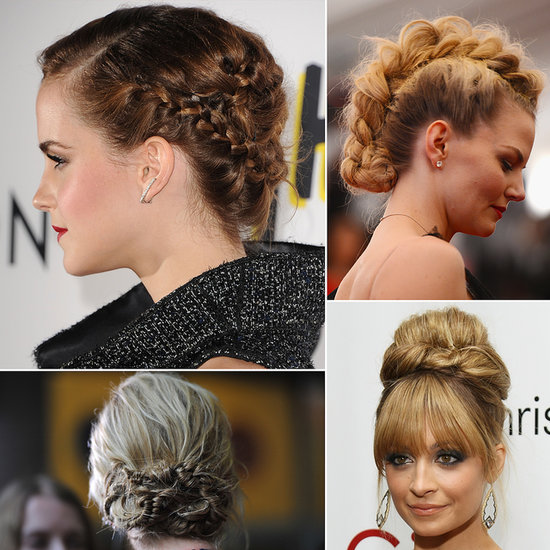 Modern Updos, Buns, and Chignons | Celebrity Hair How-To