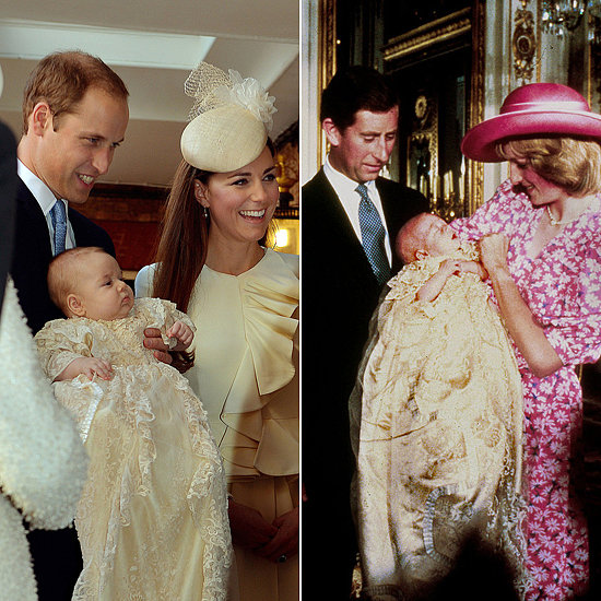 Who Wore It Best? Baby Prince William vs. Prince George