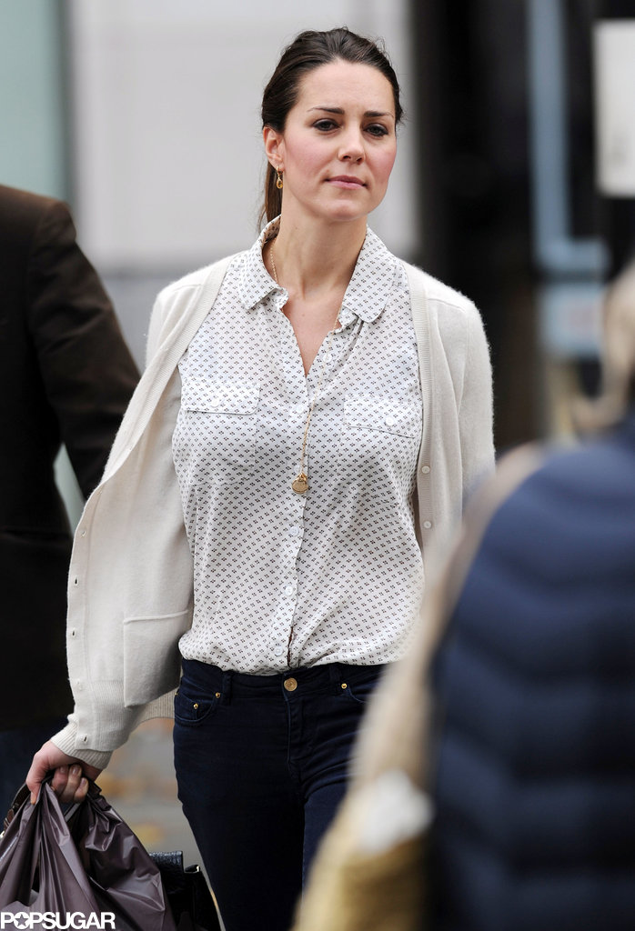 Kate Middleton relaxed with shopping on Friday in London.