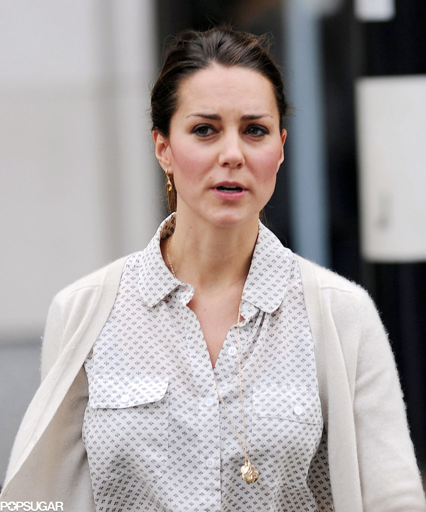 Kate Middleton Bargain Shops in Sneakers!