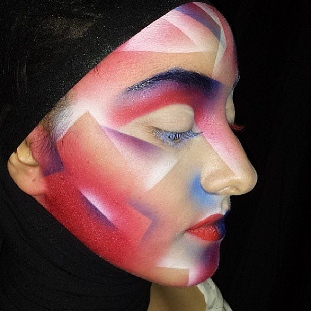 Can we talk about how cool this Illamasqua makeup look is? It's the perfect brand for scoring Halloween makeup necessities. Source: Instagram user illamasqua