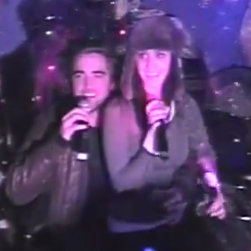 Robert Pattinson Singing Karaoke With Katy Perry | Video