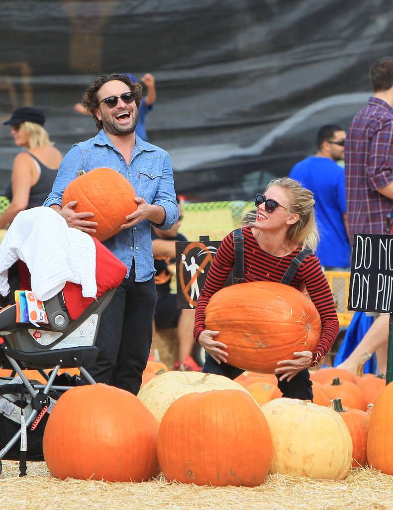 The Big Bang Theory's Johnny Galecki got in the Fall spirit at an LA pumpkin patch with his girlfriend, Kelli Garner.