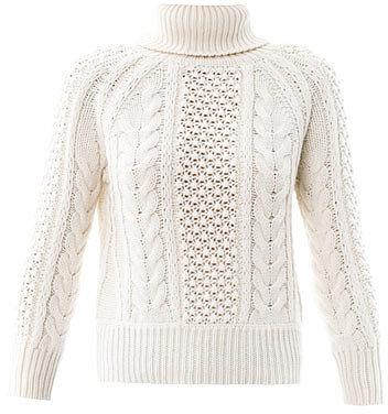 Altuzarra Waveley cable-knit sweater