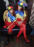 Tweedledee and Tweedledum Snooki and JWoww went as Alice in Wonderland's Tweedledee and Tweedledum.