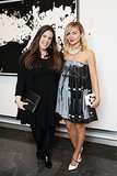 At amfAR's cocktail party, Mary Katrantzou and Nasiba Adilova got together for a good cause.