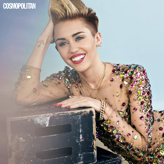 Miley Cyrus Interview in US Cosmopolitan December 2013