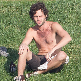 Penn Badgley Shirtless in LA | Pictures