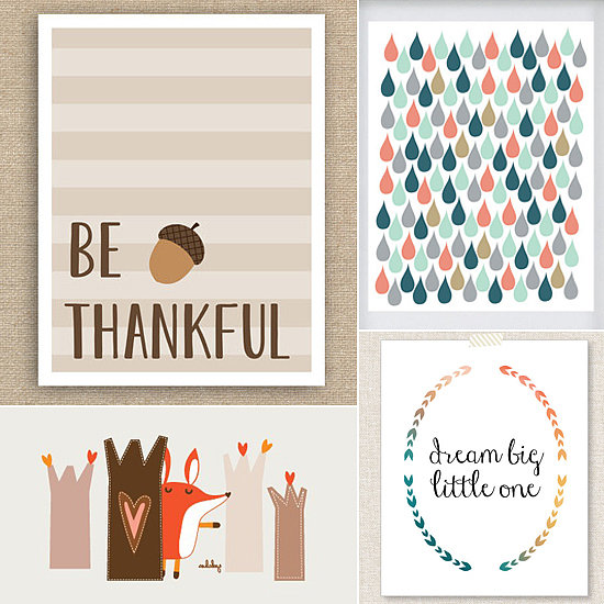 Fall Art Prints Perfect For Cozy Nurseries