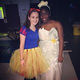 For Pairs: Snow White and Tiana