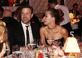 Olivia Wilde and Jason Sudeikis were all smiles at the Vanity Fair Oscars party in LA in February 2013.