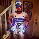 R2-D2 Glee's Chris Colfer went as, yes, sexy R2-D2. Source: Instagram user hrhchriscolfer