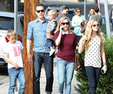 Reese Witherspoon headed to lunch in LA with her whole family.