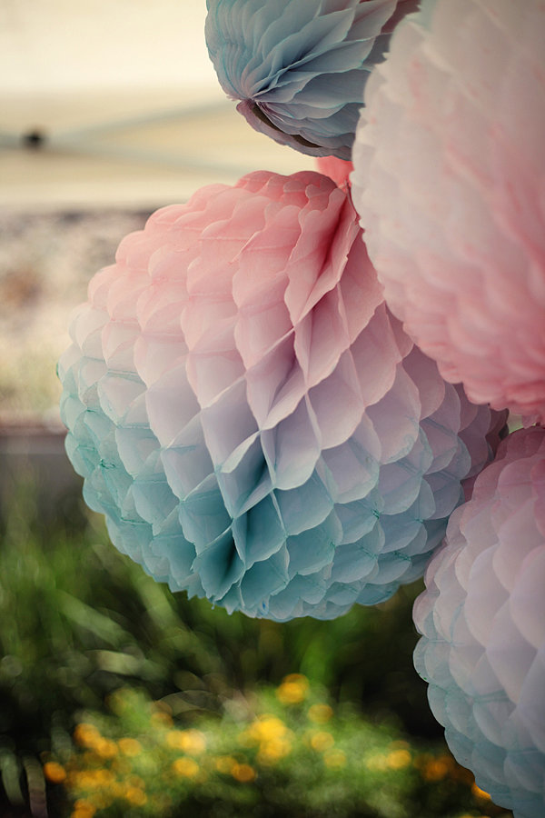DIY Watercolor Paper Balls