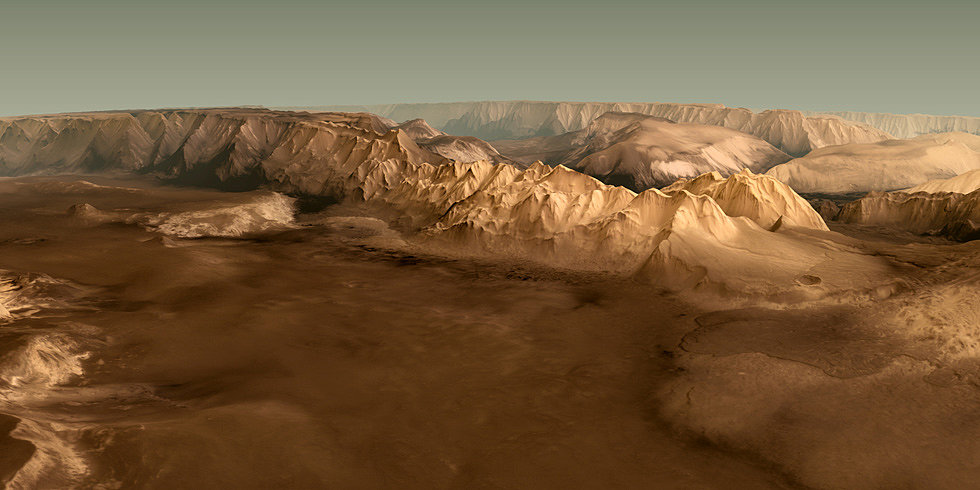 All Aboard the Mars Express! See the Red Planet in Spectacular 3D