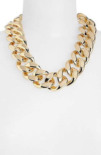 Topshop Thick Chain Necklace