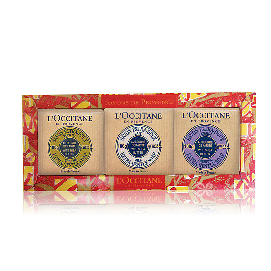 A gorgeous set of soaps, like L'Occitane's Deluxe Soap Set ($19), is decadent and luxurious, making it the perfect mini gift.