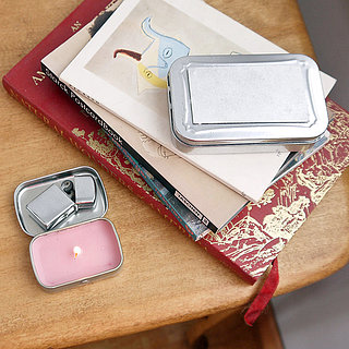 DIY Mint Tin Travel Candle