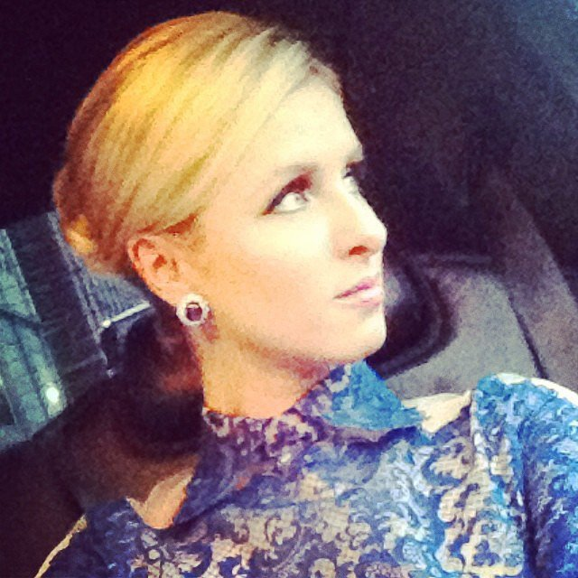 Nicky hilton shared a stunning selfie while on her way to the ballet