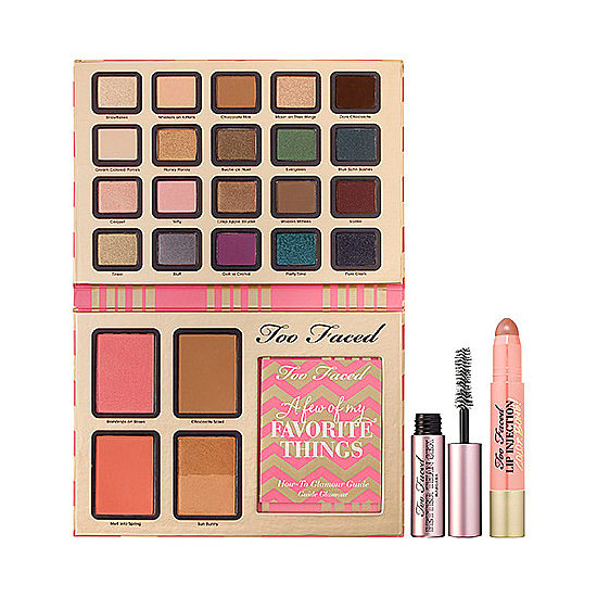 With colors named after the song's famous lyrics, Too Faced's A Few of My Favorite Things collection ($56) is handpicked by the brand's cofounder and creative director Jerrod Blandino.