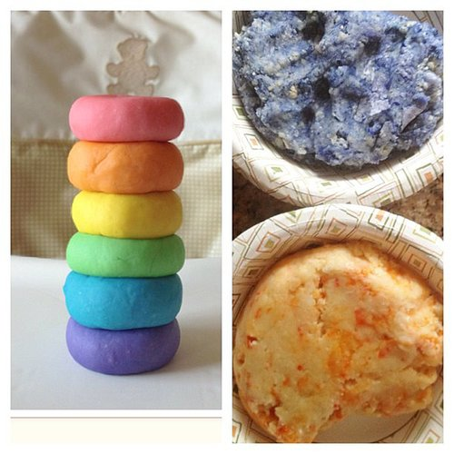 When you try to make colored Play-Dough, but you get a quiche look-alike. Source: Instagram user cyn_de
