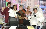 The Good Morning America team all donned costumes for Halloween. Source: Twitter user GMA