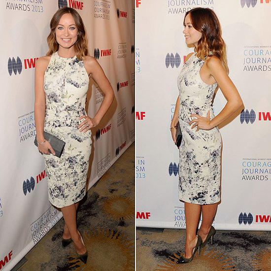 Olivia Wilde Debuts Her Baby Bump For a Good Cause