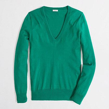 Factory V-neck sweater