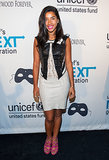 Hannah Bronfman took tuxedo inspiration for her Unicef  Masquerade Ball garb.