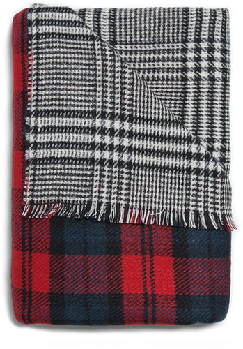 Two-Sided Soft Scarf