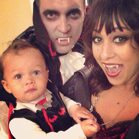 The Mowry-Housley clan makes vampires much less scary! Source: Instagram user tameramowrytwo