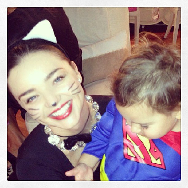 Miranda Kerr showed off her adorable Halloween costume. Source: Instagram user mirandakerr