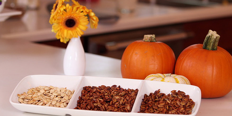 Salty, Sweet, or Umami: 3 Ways to Season Pumpkin Seeds