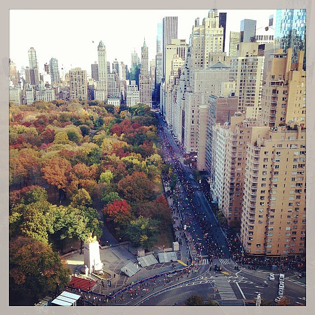 A bird's-eye view of mile 26. Source: Instagram user miguelklip