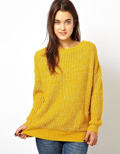 ASOS Slouchy Sweater With Pocket