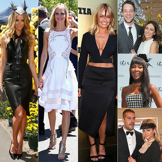 Black, White & Stylish All Over: Celebrities Go Trackside for Derby Day!