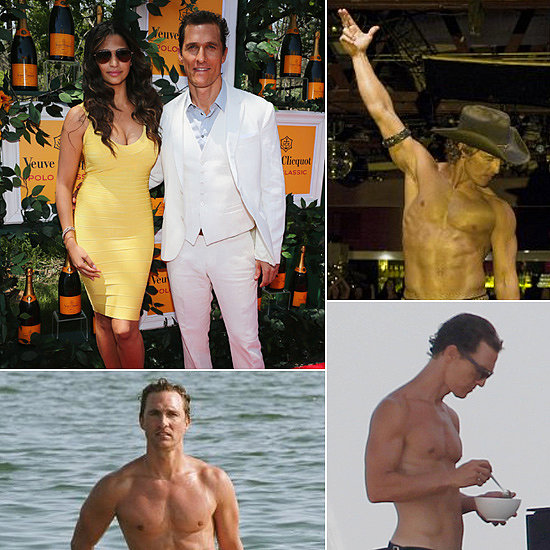 Matthew's Sweetest and Sexiest Moments on His 44th Birthday