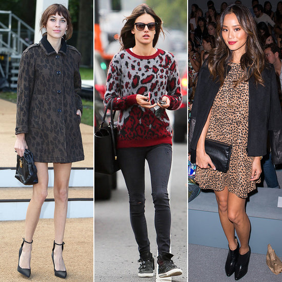 Let These Celebs Show You How To Perfect Leopard Print