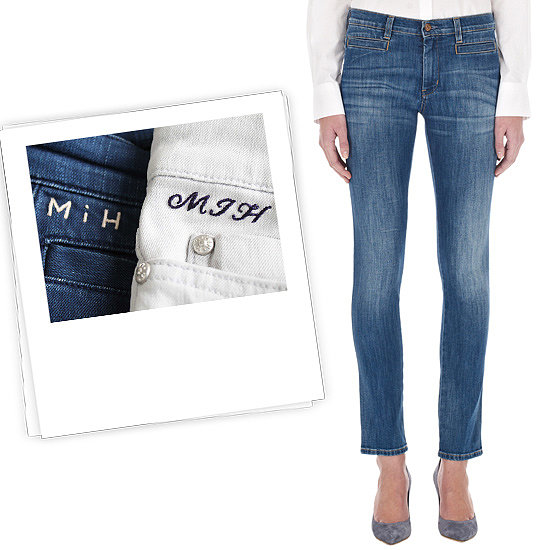Know a blue jean babe? Up her denim game with MiH's bespoke service, offering up its bestselling styles with a discreet monogram ($224 with personalization).