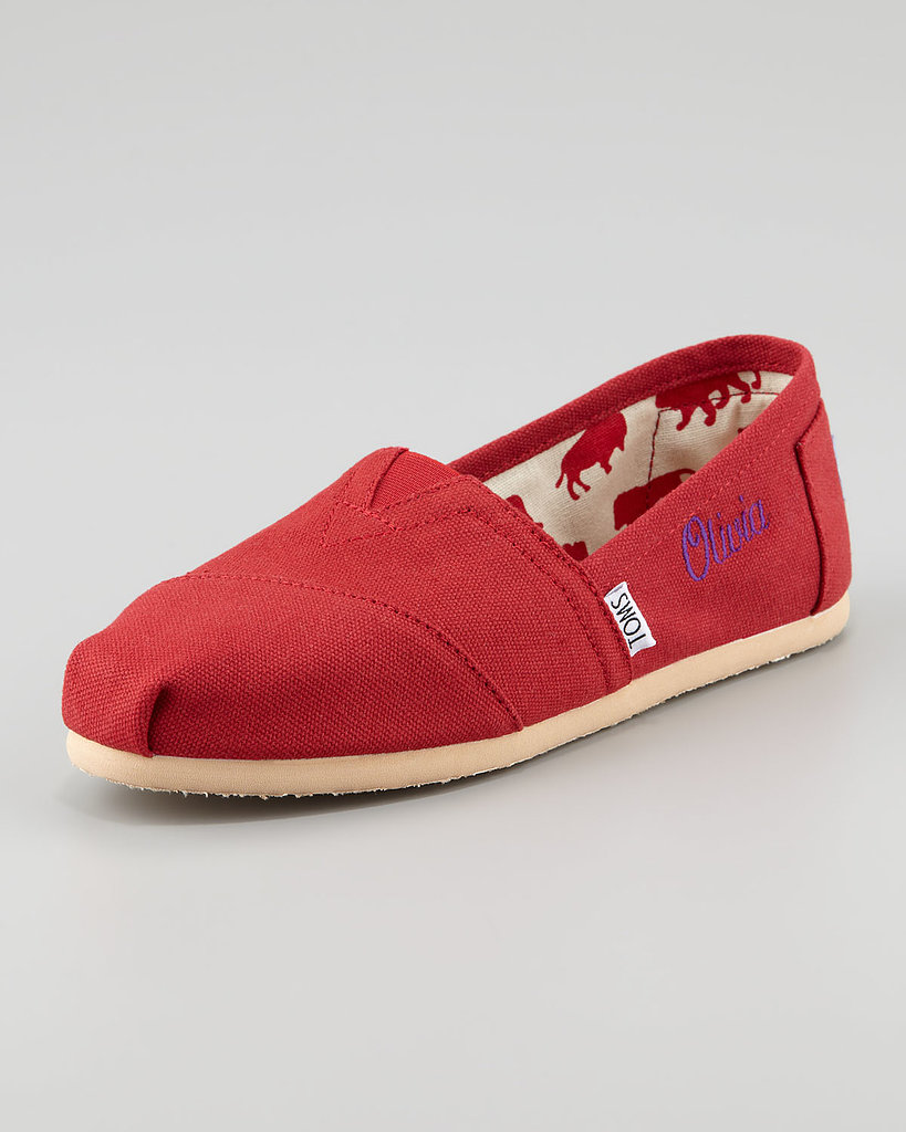 Is an avowed TOMS wearer on your shopping list? Treat them to a fresh pair ($63) that they'll be able to ID in a sea of shoes — this slip-on comes with their name stitched on.