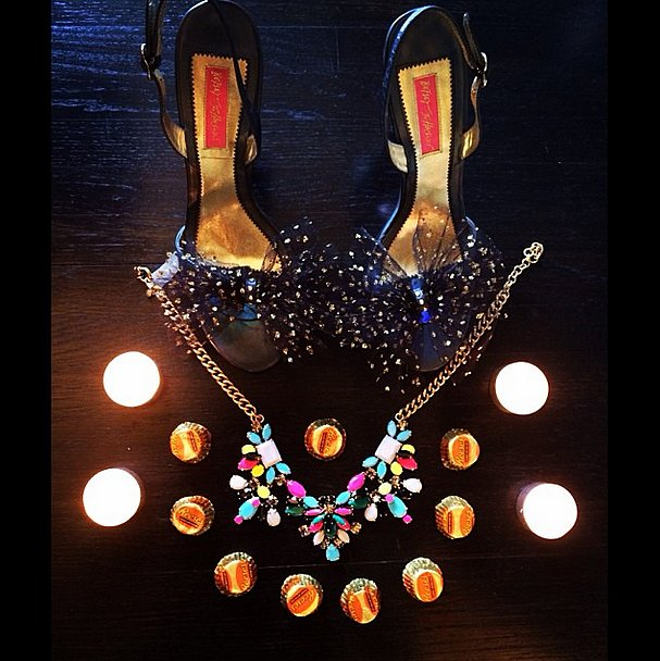 Clearly, Mindy Kaling loves a good sparkle! Source: Instagram user mindykaling