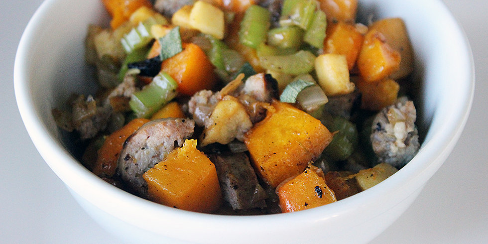 Lose the Bread, but Keep the Sausage: Paleo Stuffing