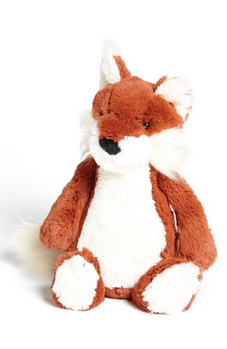 For 1-Year-Olds: Jellycat Bashful Fox Stuffed Animal