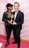 Grace Jones couldn't resist Tom Hiddleston.