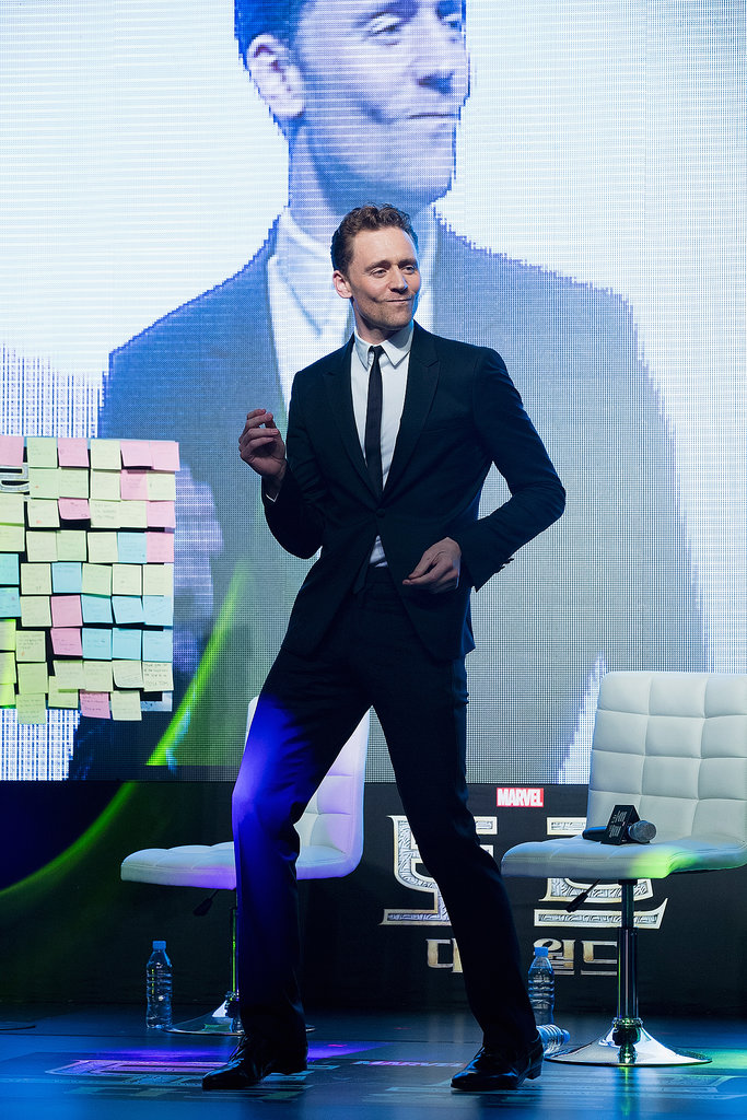 Tom Hiddleston danced.