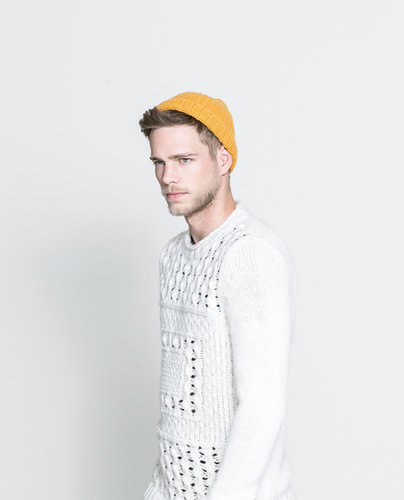 Sweater With Open-Work Front