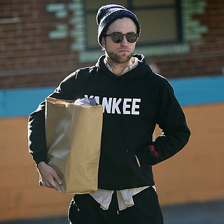 Robert Pattinson Wearing a Beanie in LA