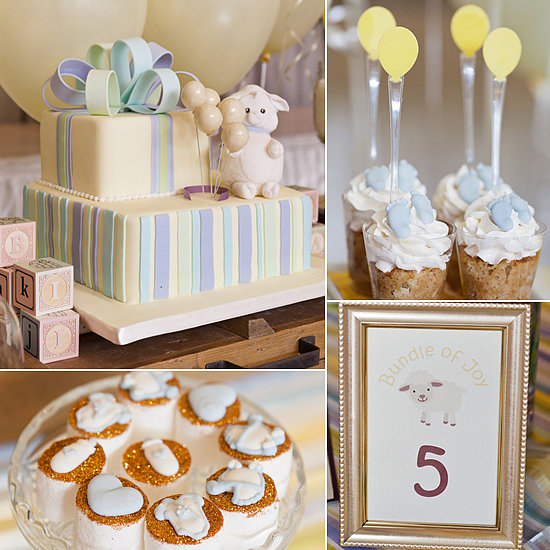 lamb baby shower ideas popsugar moms