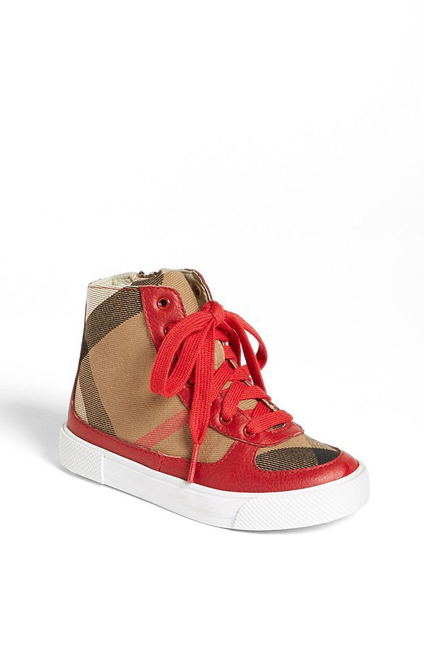 Burberry Merrison High Top Sneakers